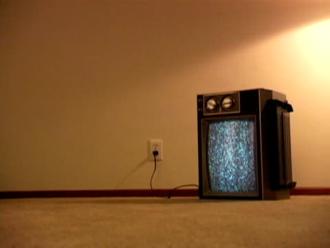 Retro Television & Static