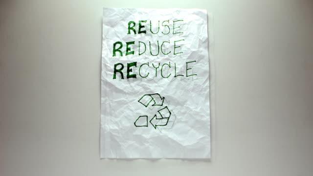 Reuse Paper - (Stop-motion)