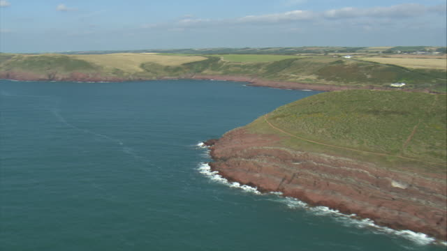 Revealing Manorbier Castle Round Headland