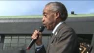 KTLA Reverend Al Sharpton Leads Oscars Protest in Hollywood