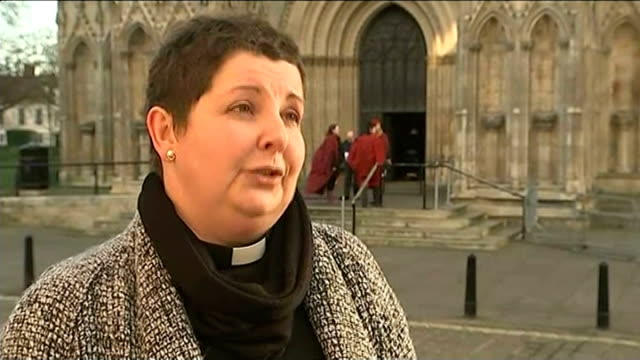 Reverend Libby Lane consecrated as first female Church of England bishop EXT Venerable Jan McFarlane interview SOT