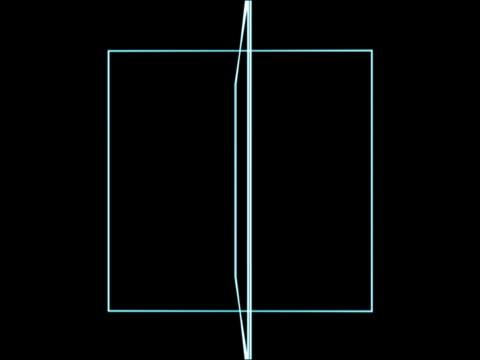 Revolving, diagrammatic squares