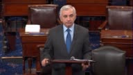 Rhode Island Senator Jack Reed argues as debate on the fiscal 2018 defense authorization opened that funding levels for the Defense Department...