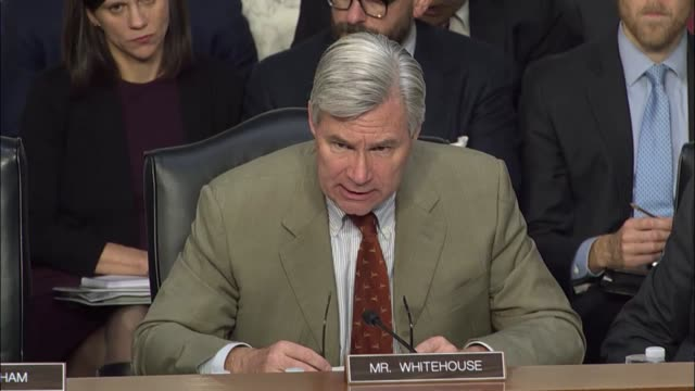 Rhode Island Senator Sheldon Whitehouse says that the US Senate and American people still do not know who coordinated hacks or released documents to...