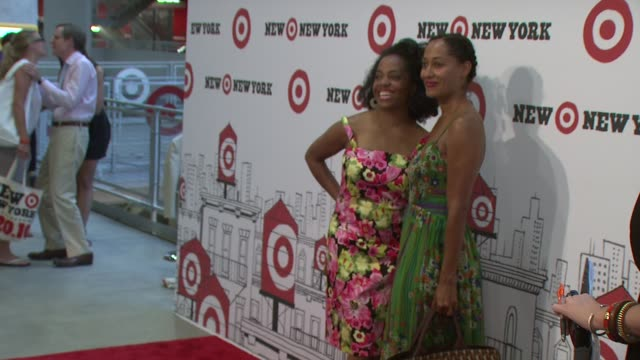 Rhonda Ross Kendrick and Tracee Ellis Ross at the Target Celebrates Opening Of East Harlem Location With StarStudded Party at New York NY
