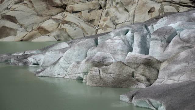 Rhone Glacier at Furka Pass, Canton Valais, Switzerland, Europe