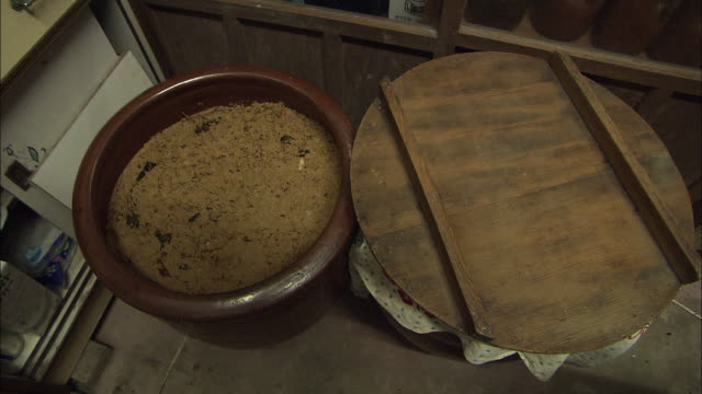 Rice Bran Bed To Make Pickles, Fukuoka, Japan