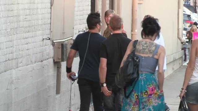 Rich Redmond Jason Aldean depart the Jimmy Kimmel Studio Hollywood in Celebrity Sightings in Los Angeles