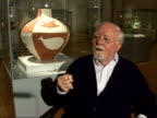 Richard Attenborough interview / Views of Picasso ceramics collection as guided by Attenborough Was going to give pieces to the gallery a few years...