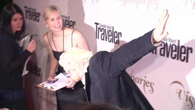 Richard Branson at Conde Nast Traveler Celebrates 'The Visionaries' And 25 Years Of Truth In Travel in New York 09/18/12