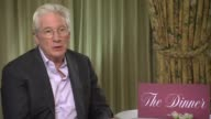 Richard Gere on the civil war currently happening in the USA the feeling that there is two Americas Donald Trump only getting 46percent of the vote...
