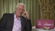 Richard Gere on the importance of his character being introduced in the correct way to show the viewers that they most dislike his character at...