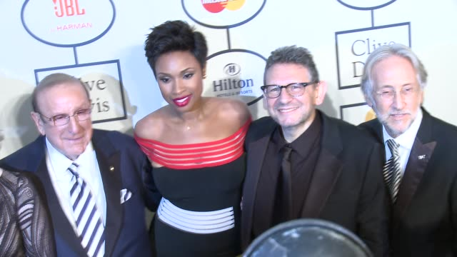 Richard Perry Jane Fonda Clive Davis Jennifer Hudson Neil Portnow at 2014 Grammy Salute To Industry Icons Honoring Lucian Grainge in Los Angeles CA
