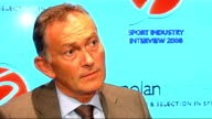 Richard Scudamore at Sport Industry Interview Scudamore interview SOT Premier League performing very well/Need to capture globalisation of football...