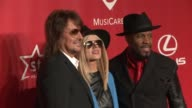 Richie Sambora Orianthi Michael Bearden at 2015 MusiCares Person Of The Year Gala Honoring Bob Dylan at Los Angeles Convention Center on February 06...