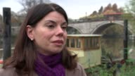 candidate interviews Sarah Olney interview SOT re Heathrow expansion Brexit General views boats on canal Sarah Olney interview SOT