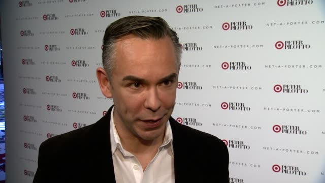 INTERVIEW Rick Gomez on what we're celebrating tonight On why it's important for Target to host and event during Fashion Week at Peter Pilotto For...