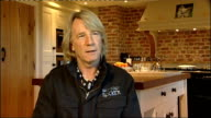 Rick Parfitt interview on receiving OBE Rick Parfitt interview SOT Asked about his nicknames and what it should be now One Boiled Egg I suppose