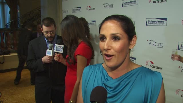 Ricki Lake on attending tonight's event on what she knows about Scleroderma on what she's looking forward to tonight on if she's watching Dancing...