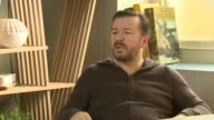 INTERVIEW Ricky Gervais on Netflix's them letting him do what he wants watching Netfix every night letting you have a directors cut at 'Special...