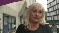 Tommy Roome sentenced to 14 years London Old Bailey EXT Suzanne Hedges interview SOT