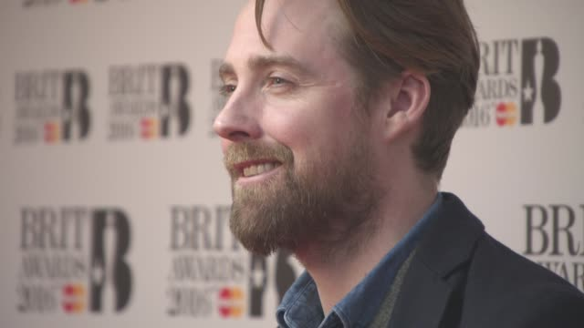 Ricky Wilson at The BRITs Are Coming Nominations Launch on January 14 2016 in London England