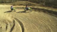 HD CRANE: MX Riders Speeding At The Apex