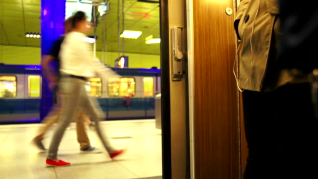 TL POV Riding The Subway