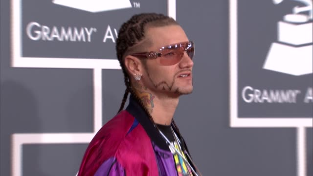 Riff Raff at The 55th Annual GRAMMY Awards Arrivals in Los Angeles CA on 2/10/13