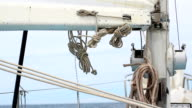 rigging of sailing yacht