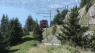Rigi Railways with a view of Lake Lucerne