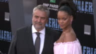 Rihanna and Luc Besson at the 'Valerian and the City of a Thousand Planets' World Premiere at TCL Chinese Theatre on July 17 2017 in Hollywood...
