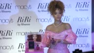 Rihanna at RiRi By Rihanna Fragrance Unveiling At Macy's Downtown Brooklyn at Macys Downtown Brooklyn on August 31 2015 in New York City