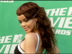 Rihanna at the 2006 MTV Movie Awards Red Carpet at Sony Pictures Studios in Culver City California on June 3 2006