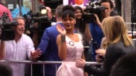 Rihanna at the HOME Premiere in Westwood in Celebrity Sightings in Los Angeles