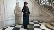 Rihanna Kate Moss Uma Thruman Alicia Keys Rosamund Pike Sienna Miller Daisy Lowe Winnie Harlow at Paris Fashion Week Christian Dior A/W17 Arrivals>...