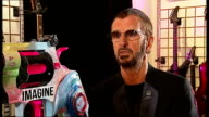 Ringo Starr backs nonviolence foundation project ENGLAND London INT Ringo Starr interview SOT I hope of course a lot of musicians will help us with...