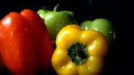 Rinsing Bell Pepper