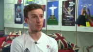 Interview with Team GB cyclists BRAZIL Rio de Janeiro INT Team GB cyclists including Adam Yates Chris Froome Geraint Thomas Ian Stannard and Steve...