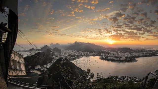 Rio De Janeiro Day to Night Timelapse