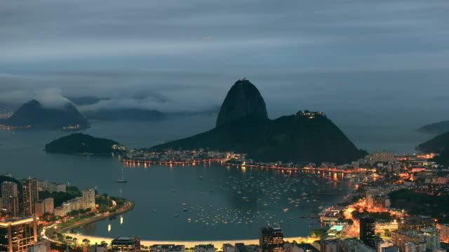 Rio de Janeiro bei Nacht Panorama