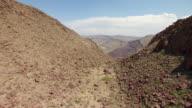 CU AERIAL LA Rio Grande in Chihuahuan Desert in Big Bend State Ranch Park / Texas, United States