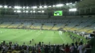Rios mythical Maracana Stadium reopens Saturday for an exhibition match that will serve as a first test ahead of the Confederations Cup in June and...