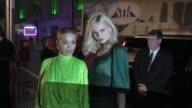 Rita Ora Andreja Pejic outside Cipriani Wall Street in New York in Celebrity Sightings in New York
