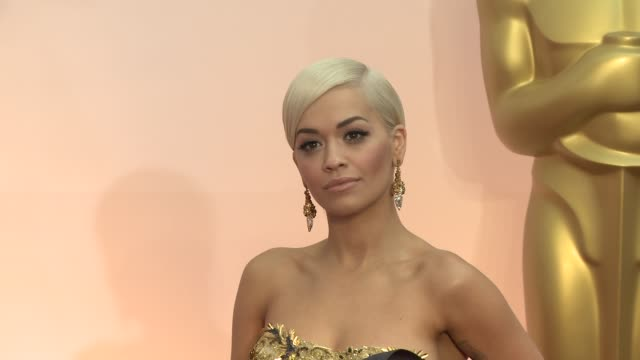 Rita Ora at the 87th Annual Academy Awards Arrivals at Dolby Theatre on February 22 2015 in Hollywood California