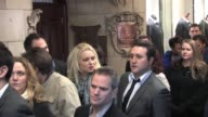 Rita Simons and Anthony Costa at the Celebrity Video Sightings In London at London England