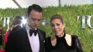 INTERVIEW Rita Wilson on being lucky to be at the Tony's and enjoying the show at 2015 Tony Awards Arrivals at Radio City Music Hall on June 07 2015...