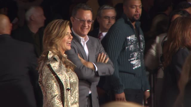 Rita Wilson Tom Hanks at the 'Old Dogs' Premiere at Hollywood CA