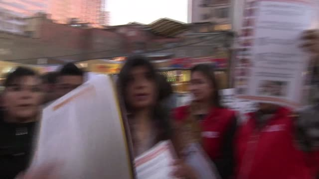 Rival Bolivian activists demonstrate in La Paz over a proposed law that would allow transgender and transexual people to change their sex on ID...