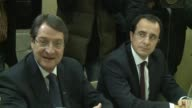 Rival Greek Cypriot and Turkish Cypriot leaders met Monday in a bid to revive a peace process aimed at reuniting the divided island but appeared no...